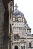 Basilica Santa Maria Maggiore della chiesa a Bergamo, Citta Alta Fotografia Stock