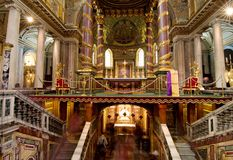 Basilica Santa Maria maggiore - Rome Stock Photo