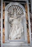 Basilica Santa Maria maggiore - Rome - inside Stock Image