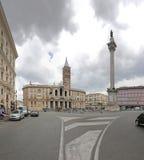 Basilica Santa Maria Maggiore Stock Photos