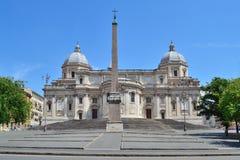 Basilica of Santa Maria Maggiore in Rome Royalty Free Stock Image