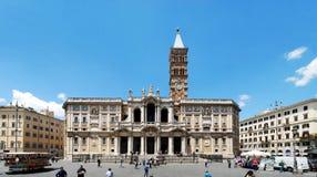 Basilica Santa Maria maggiore - Rome - outside Stock Photo
