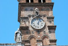 Basilica Santa Maria maggiore - Rome - outside Stock Images