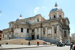 Basilica Santa Maria maggiore - Rome - outside Stock Image