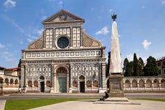 Basilica of Santa Maria Novella. Famous landmark of Florence, Italy royalty free stock photo