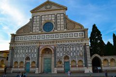 Basilica of Santa Maria Novella Basilica di Santa Maria Novella stock images