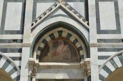 Basilica of Santa Maria Novella in Florence Stock Images