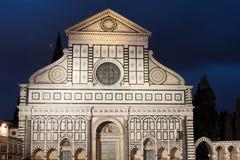 Basilica of Santa Maria Novella stock image