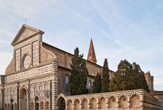 Basilica of Santa Maria Novella Stock Images
