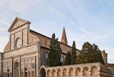 Basilica of Santa Maria Novella Stock Images