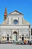 Basilica of Santa Maria Novella in Florence, Italy Royalty Free Stock Images