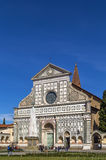 Basilica of Santa Maria Novella, Florence, Italy. Santa Maria Novella is a church in Florence, Italy. Chronologically, it is the first great basilica in Florence Royalty Free Stock Photos