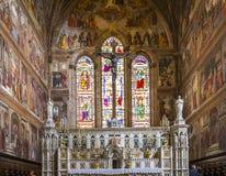 Basilica of Santa Maria Novella, Florence, Italy Royalty Free Stock Photo