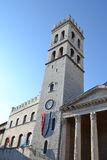 Basilica of Santa Maria sopra Minerva - Assisi Stock Photography