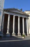 Basilica of Santa Maria sopra Minerva - Assisi Stock Images