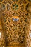 Basilica of Santa Maria in Trstevere in Rome, Italy. royalty free stock images