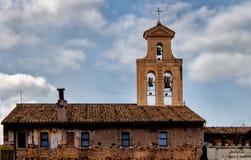 Basilica of Santi Cosma e Damiano, Rome, Italy Royalty Free Stock Image