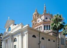 Basilica Santi Gervasio e Protasio, Rapallo, Italy Stock Images