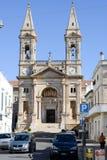 Basilica Santi Medici Cosma e Damiano in Alberobello Royalty Free Stock Images