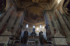 Basilica of Santissima Annunziata in Florence Stock Photography