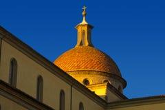 Basilica of Santo Spirito - Florence (1481) Stock Images
