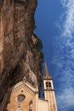 Basilica Santuario Madonna della Corona - Italy Royalty Free Stock Photography