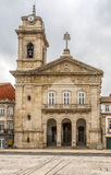 Basilica Sao Pedro at the sqaure Largo do Toural in Guimaraes ,Portugal Royalty Free Stock Photos