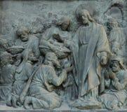 Basilica Sare Coeur, door detail Royalty Free Stock Photos