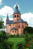 Basilica in Seligenstadt Stock Photos