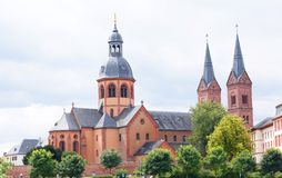 Basilica in Seligenstadt Royalty Free Stock Photo