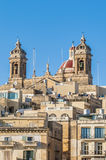 Basilica of Senglea in Malta. Stock Photos