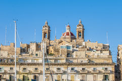 Basilica of Senglea in Malta. Stock Photography