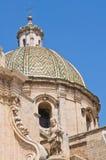 Basilica of SS. Rosario. Francavilla Fontana. Puglia. Italy. Stock Photography