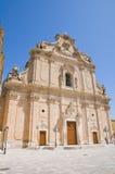 Basilica of SS. Rosario. Francavilla Fontana. Puglia. Italy. Royalty Free Stock Image