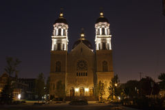 The Basilica of St. Adalbert Stock Images