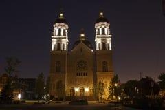 The Basilica of St. Adalbert. In Grand Rapids Michigan Stock Images