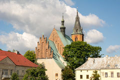 Basilica. Of St. Andrew in Olkusz (Poland Stock Image