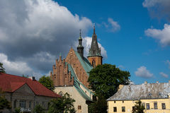 Basilica. Of St. Andrew in Olkusz (Poland Stock Images
