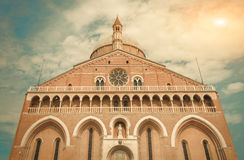 Basilica of St. Anthony in Padua - Italy Royalty Free Stock Images