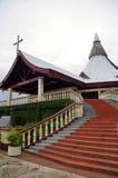 Basilica of St Anthony of Padua, Tonga. Royalty Free Stock Photo