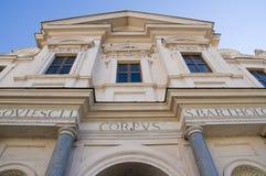 The Basilica of St. Bartholomew on the Island Royalty Free Stock Photography