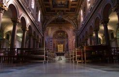 The Basilica of St. Bartholomew on the Island Stock Image