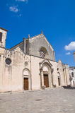 Basilica of St. Caterina. Galatina. Puglia. Italy. Royalty Free Stock Photo
