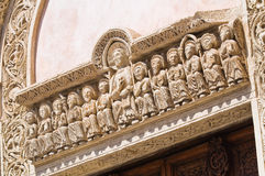 Basilica of St. Caterina. Galatina. Puglia. Italy. Royalty Free Stock Images