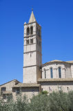 Basilica of St. Chiara. Stock Images