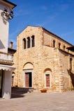Basilica of St. Euphemia, Grado Stock Image