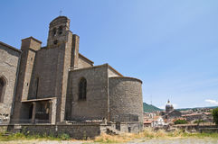 Basilica of St. Francesco alla Rocca. Viterbo. Stock Photos