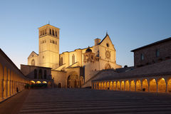 Basilica of St. Francis of Assisi Stock Images