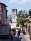 Basilica of St. Francis, Assisi, Italy Royalty Free Stock Photography