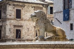 Basilica of  St. Francis in Assisi, Italy Royalty Free Stock Photo